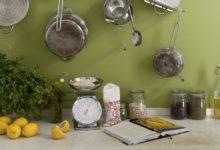 Fiesta en la cocina con colores